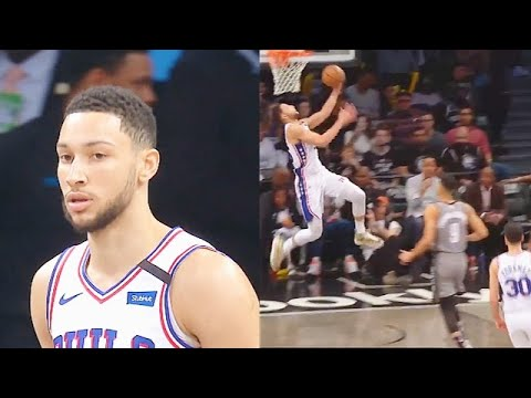Ben Simmons Unreal No-Jumpshot Equipped 34 Point Game Destroying Nets! Sixers vs Nets