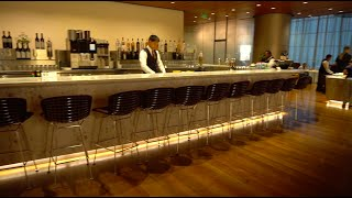 Qatar Airways Flagship Business Class Lounge