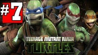 teenage mutant ninja turtles out of the shadows walkthrough part 7 chapter 2 hd xbox360