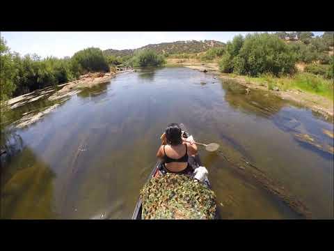 Canoe trip Guadiana Portugal