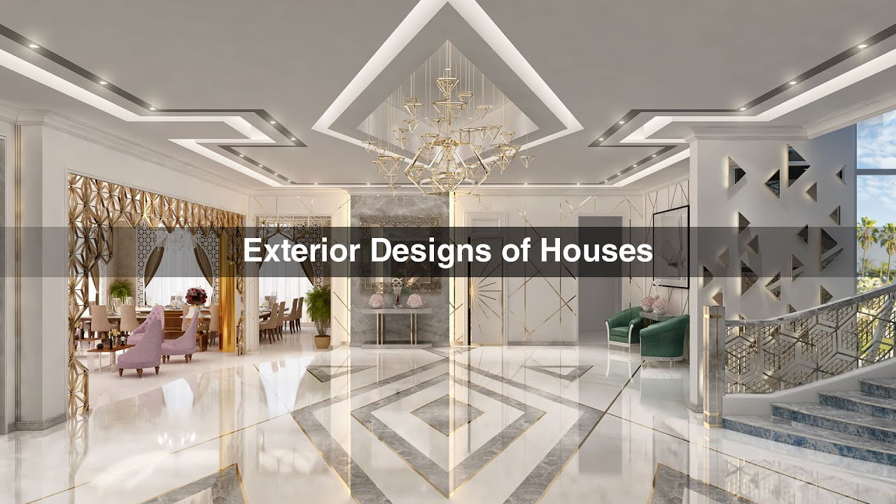 Luxury exterior designs company in dubai algedra for Household design company