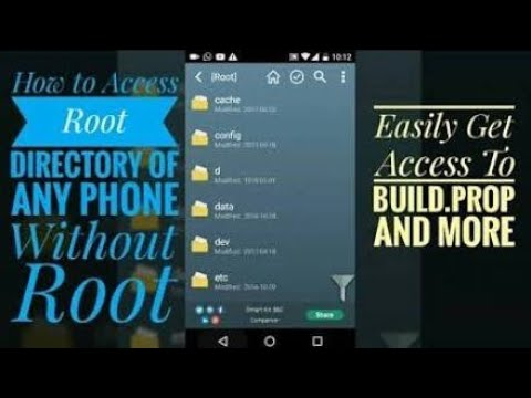 Access Root folder without Rooting 2018