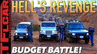 We Torture Test 3 Budget Off-Roaders in Moab & This One Is The Best! Cheap Jeep Challenge Ep.8