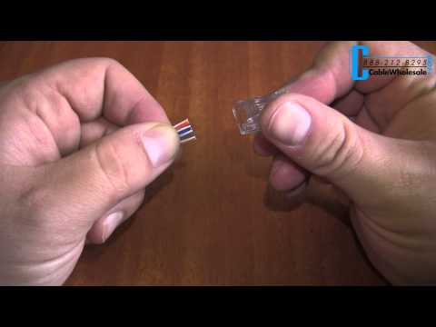 How to Make a CAT5E or CAT6 Ethernet Patch Cable - CableWholesale