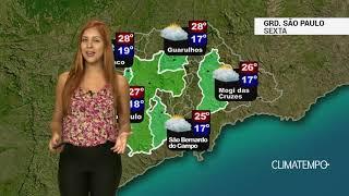 Previsão Grande São Paulo - Ar seco de origem polar