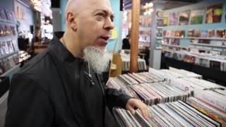Jordan Rudess​ visits Guestroom Records​ in Louisville, KY