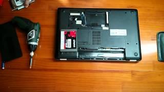 cambiar disco duro mecnico por uno slido hp g62