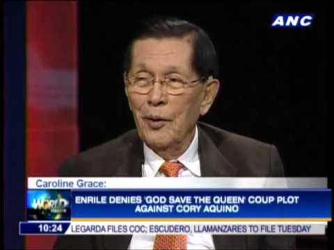 Enrile defends Martial Law