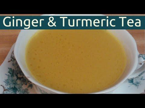 How To Make Healthy Fresh Ginger Turmeric Tea