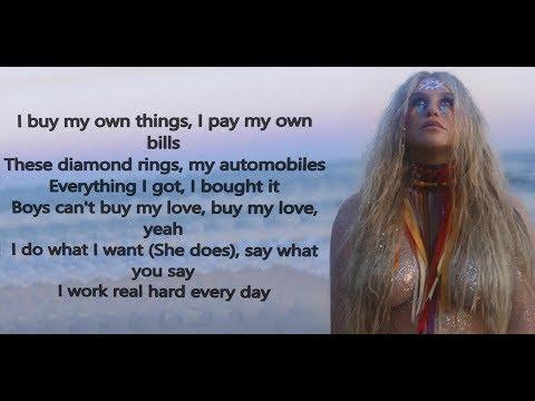 Kesha - Woman (Lyric Video) ft. The Dap Kings Horns