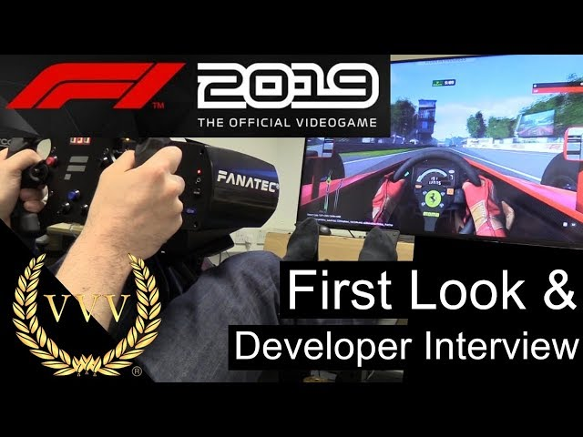 F1 2019 - First Look and Developer Interview