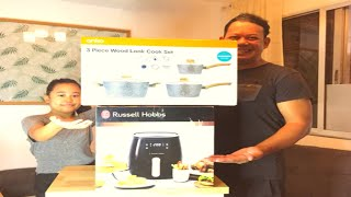 UNBOXING RUSSELL HOBBS AIRFRYE…