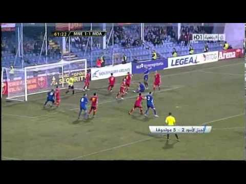 Montenegro 2-5 Moldova | All Goals ~ World Cup 2014 Qualification