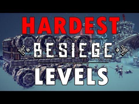 Hardest Besiege Levels