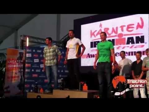Ironman Austria Klagenfurt - Premiazione di Marino Vanhoenacker