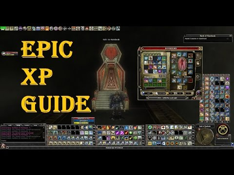 The EPIC Leveling guide for Dungeons & Dragons Online