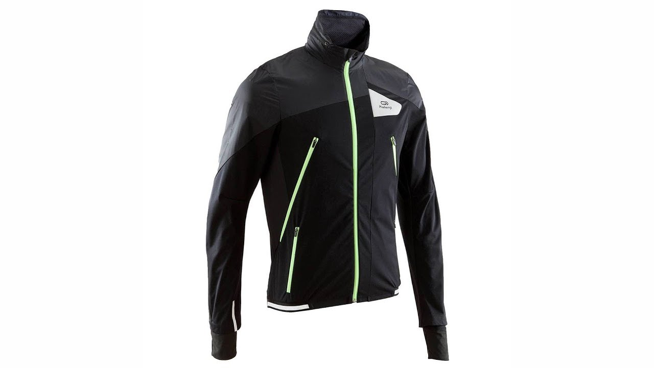 e7b1a47c9108 Kalenji Kiprun Evolutive Men s Running Jacket (Black Yellow) 4K ...