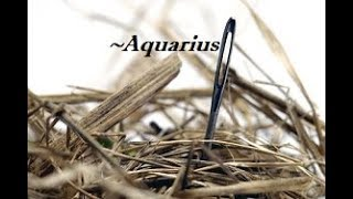 ~Aquarius~Love~Be Careful With This~End of June 25 to July 1, 2018 Aquarius Tarot Reading