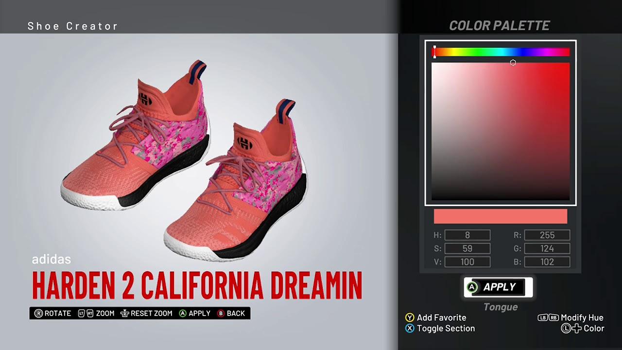 harden california dreamin