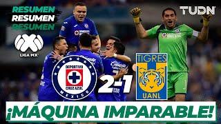 Resumen y goles | Cruz Azul 2 - 1 Tigres | Liga Mx - CL 2020 J7 | TUDN