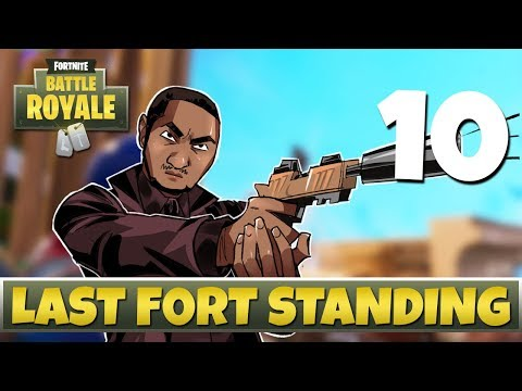 [10] Last Fort Standing (Let's Play Fortnite: Battle Royale w/ GaLm and Ritz)
