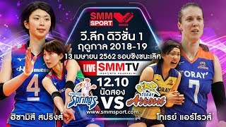 13/04/2019 | HISAMITSU SPRINGS  - TORAY ARROWS  | JAPAN V.LEAGUE 2018-2019 | FINAL | Leg2