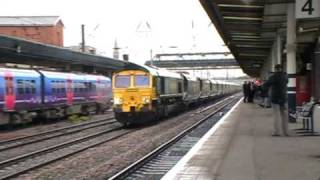 Doncaster Railway Station 29/7/09 Part 2