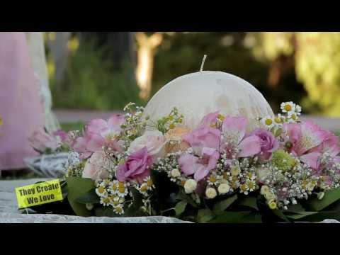 Eventful - Εκπομπη Γαμου Βαπτισης Mary's Corner Στολισμος