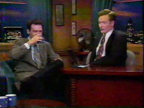 Norm MacDonald on Conan O'Brien Early May 1996.  Part 1.