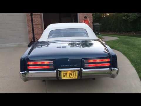 1971 Pontiac Grand Ville Convertible