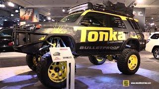 2016 Toyota 4Runner Tonka Off Road Adventure SUV - Exterior Walkaround - 2016 New York Auto Show
