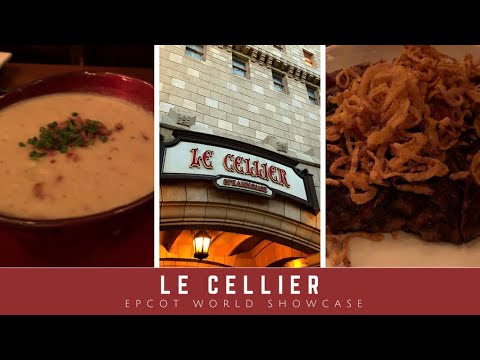 DINING REVIEW: Le Cellier | Canada Pavilion In Epcot World Showcase