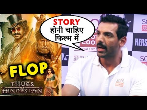 Thugs Of Hindostan FLOP पर बोले John Abraham  Aamir Khan
