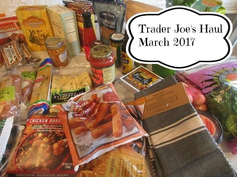 Trader Joe's Haul March 2017  | aSimplySimpleLife