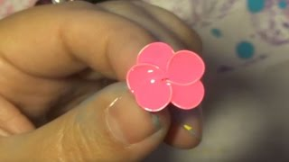 DIY Pinterest Inspired Nail Polish Flowers