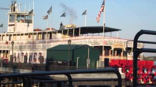 "Calliope Atop The Paddle Steamer Natchez Playing ""sandman"" - New Orleans"