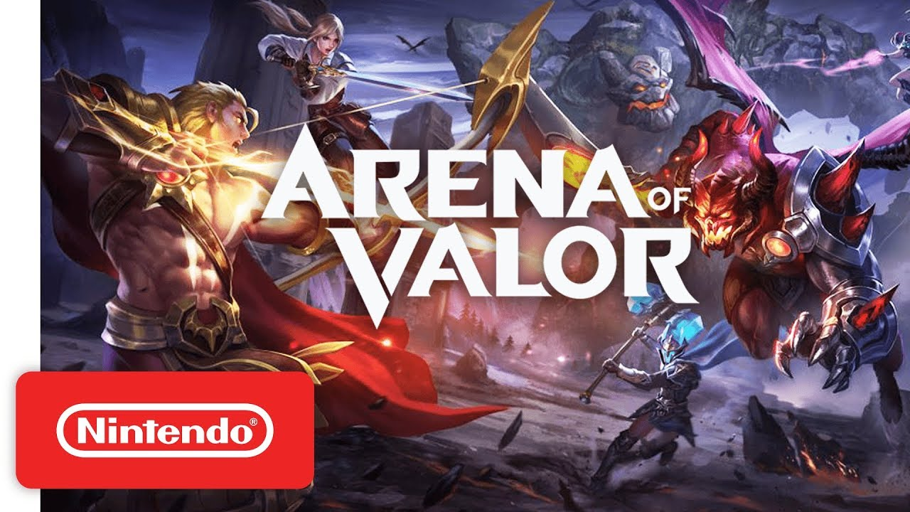 A 'Dota' veteran's take on 'Arena of Valor' for Switch