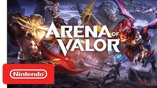 Arena of Valor Nintendo Switch Edition is Now Free-To-Play!