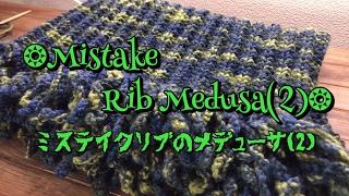 ベルンドケストラーのネックウェアを編んでみました。 本体を輪針でグルグルと編み終えた後、フリンジを作りながら編み止めて編み仕上げます...