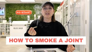 HOW TO SMOKE A JOÏNT   CBD FLOWER