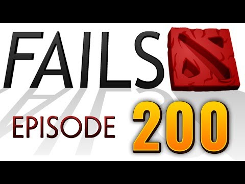 Dota 2 Fails of the Week - Ep. 200 (30 fails special)