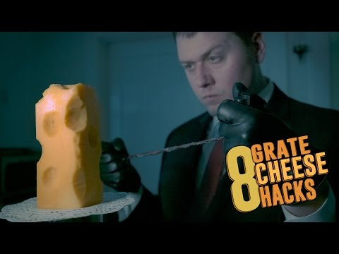 8 'Grate' Cheese Hacks!