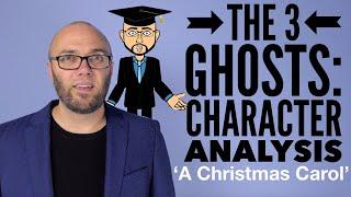 The 3 Ghosts: Character Analysis  - 'A Christmas Carol' (animated)