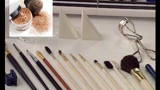 Инструменты для макияжа. Секреты макияжа.  Фитнес  ТВ