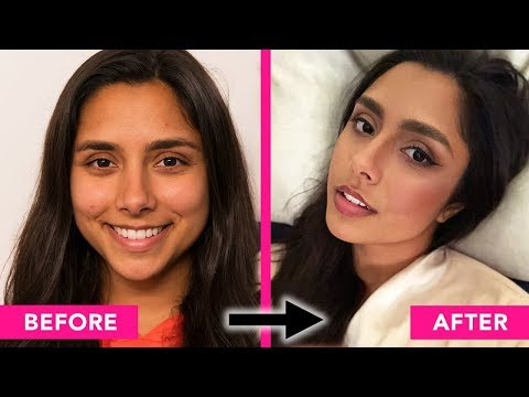 I Gave Myself A Full Glam Makeover For The First Time 💋