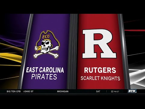 East Carolina at Rutgers - Men's Basketball Highlights