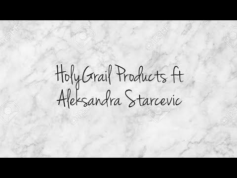 Holy Grail Products - Old School vs New School ft Aleksandra Starcevic