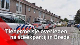 Meisje overleden bij steekpartij Bilderdijkstraat in Breda