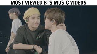 [TOP 50] Most Viewed BTS Music Videos | November 2019
