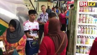 Pembaca serbu BH di Pasar Awam Larkin